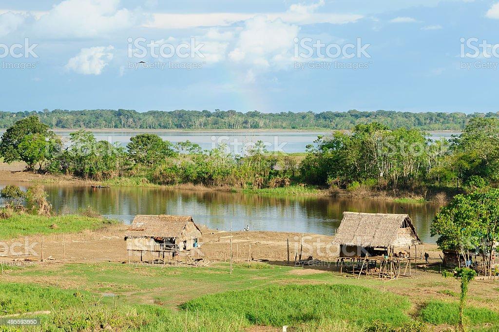 Peruvian Amazonas stock photo
