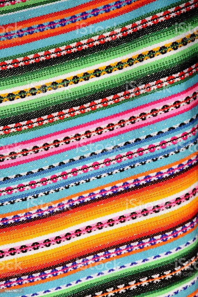 Peruvian Blanket royalty-free stock photo