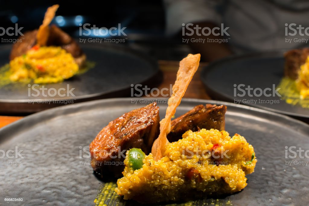 Peruvian cuisine stock photo