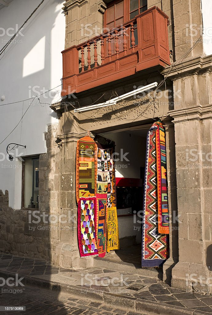 Peruvian Souvenirs royalty-free stock photo