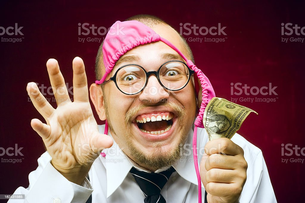 Pervert royalty-free stock photo