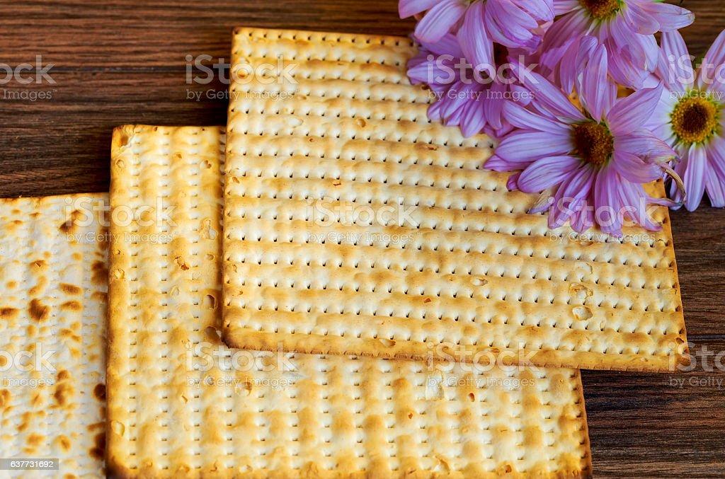 Pesah celebration concept jewish Passover holiday stock photo