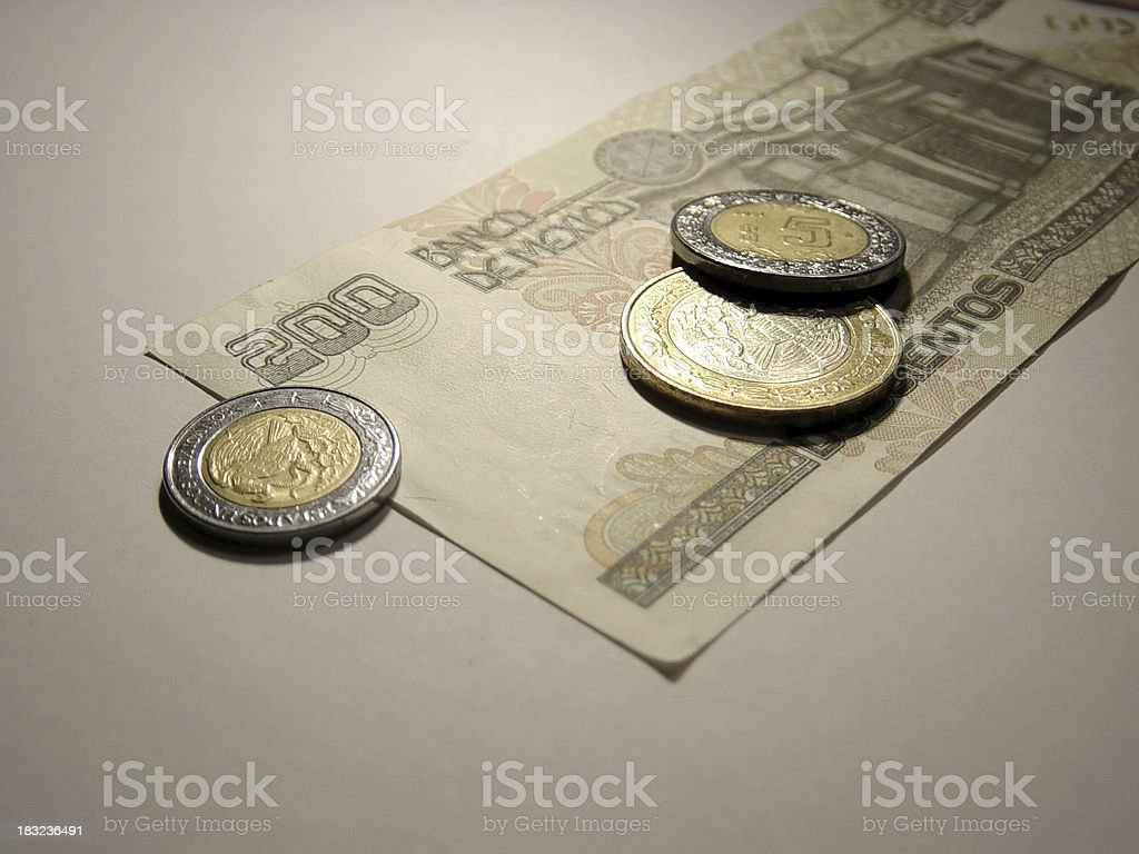 pesos stock photo