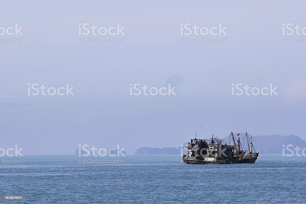 pesqueros stock photo