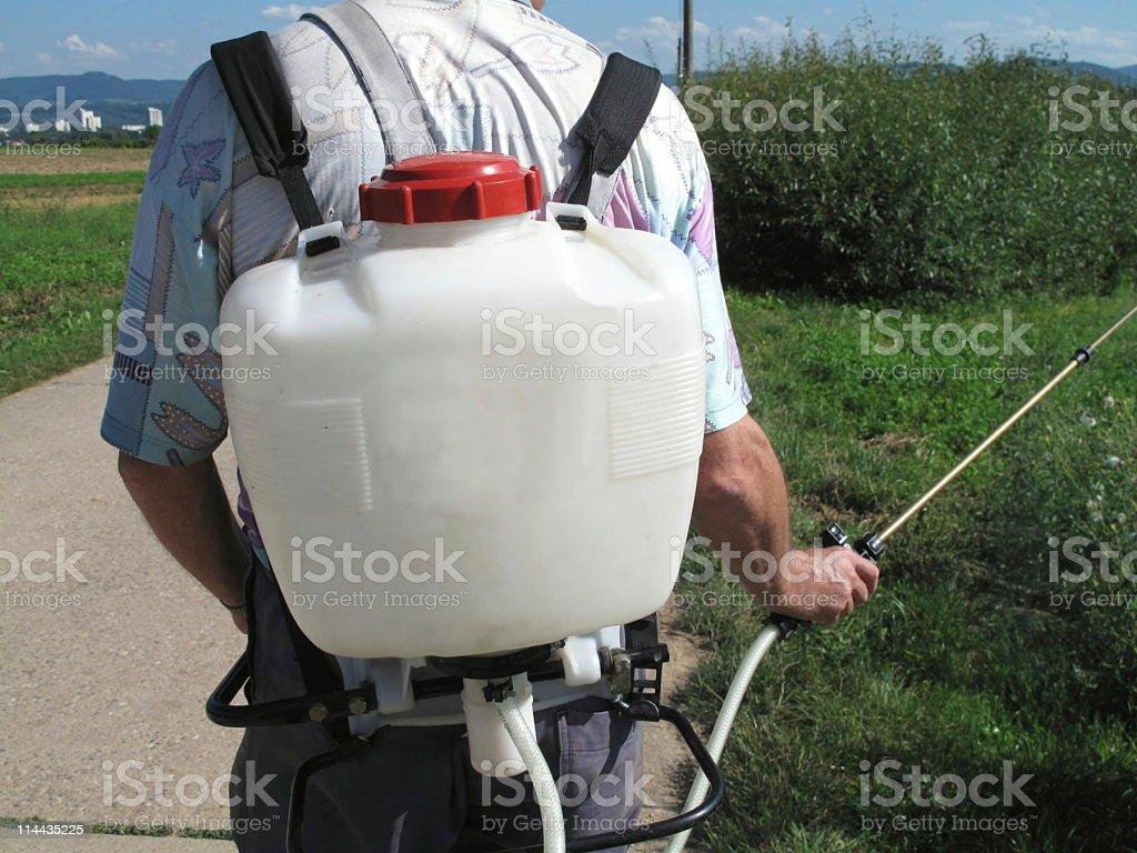 Pest control royalty-free stock photo