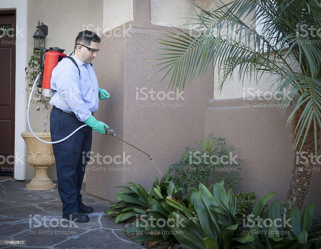 Pest Control stock photo