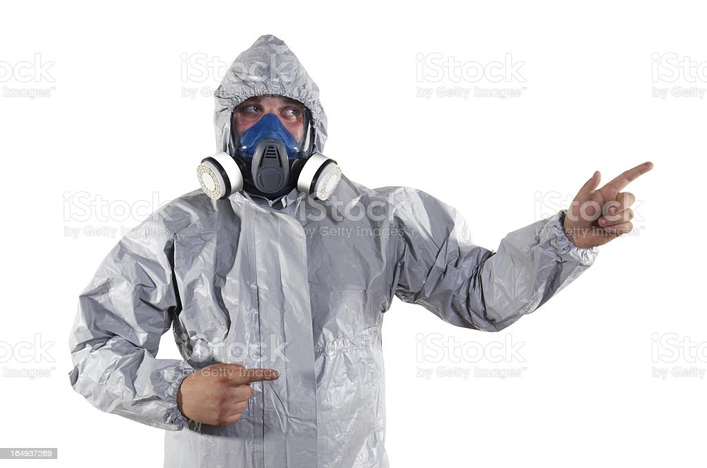 pest control worker stock photo