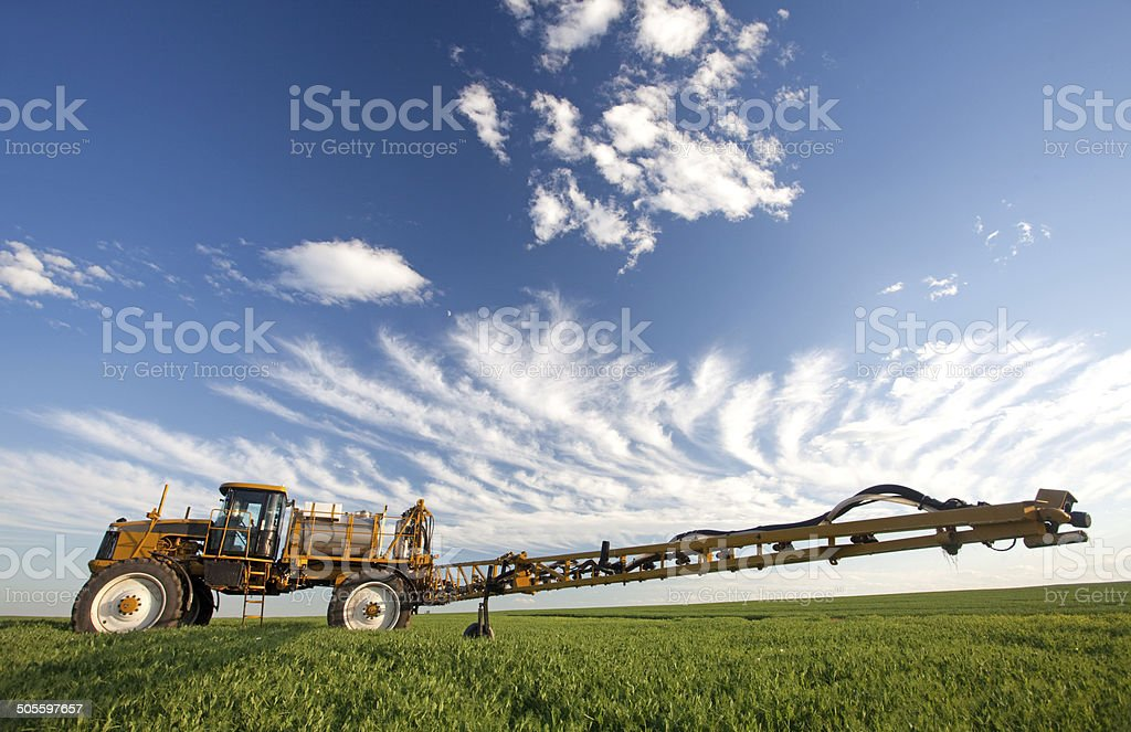 Pesticide Herbicide and Fungicide Agricultural Crop Sprayer stock photo