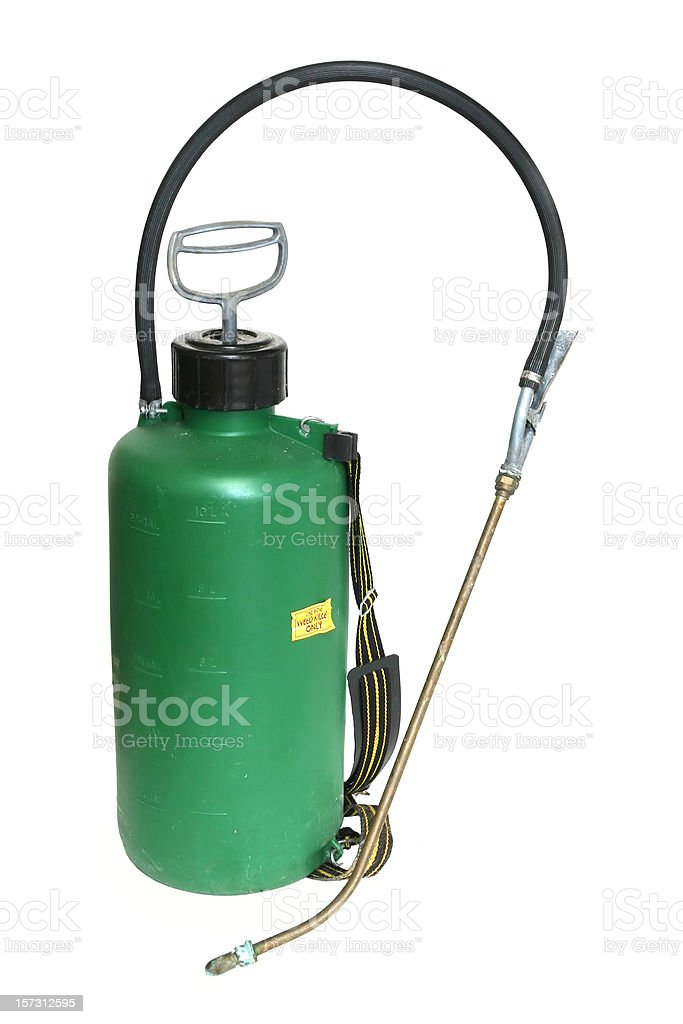 Pesticide Sprayer royalty-free stock photo