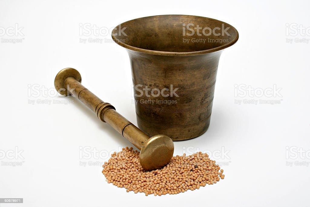 pestle royalty-free stock photo