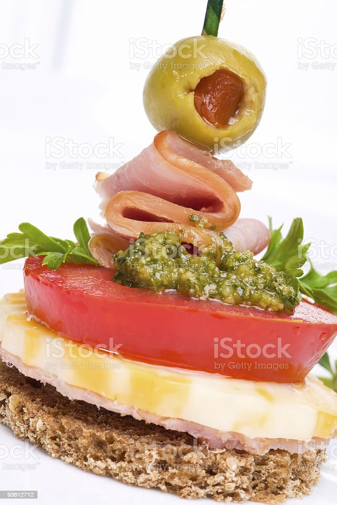 Pesto cheese royalty-free stock photo