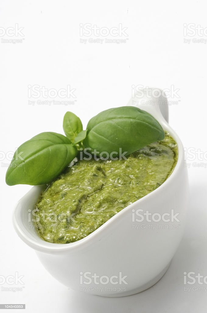 Pesto ligure stock photo