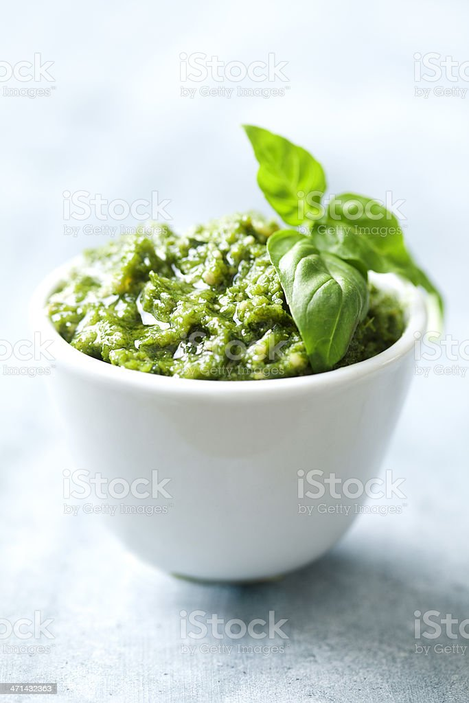 pesto royalty-free stock photo