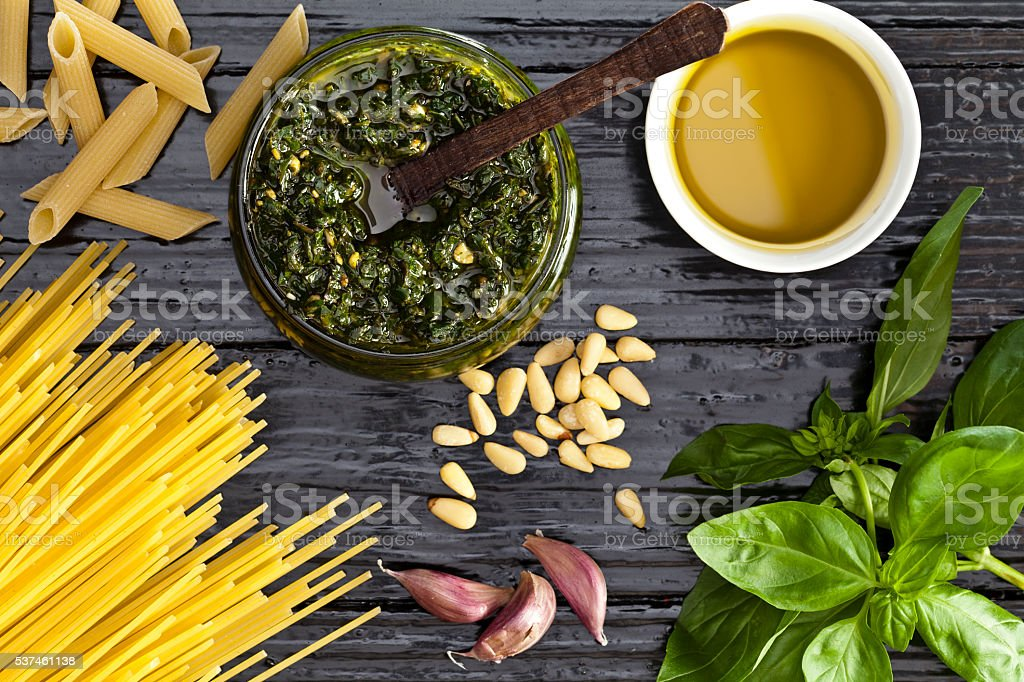 Pesto stock photo