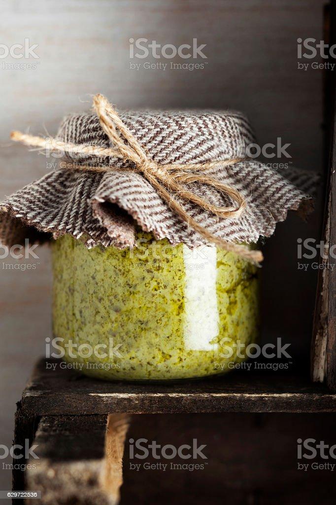 Pesto Sauce, food, stock photo