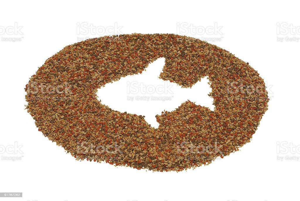 Pet Fish Food royalty-free stock photo