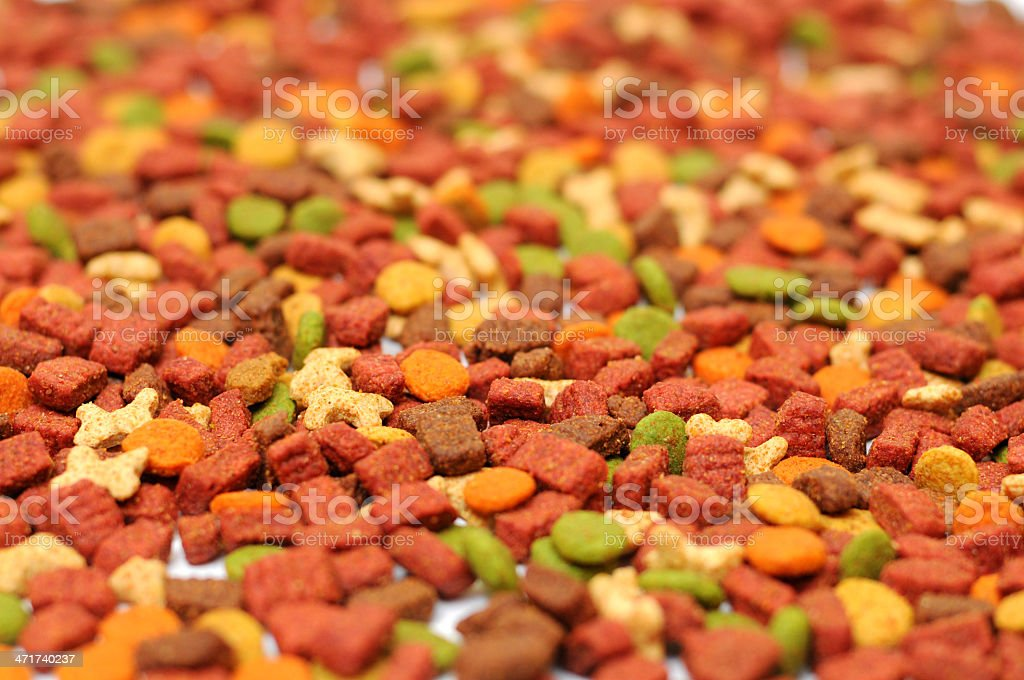 Pet food royalty-free stock photo
