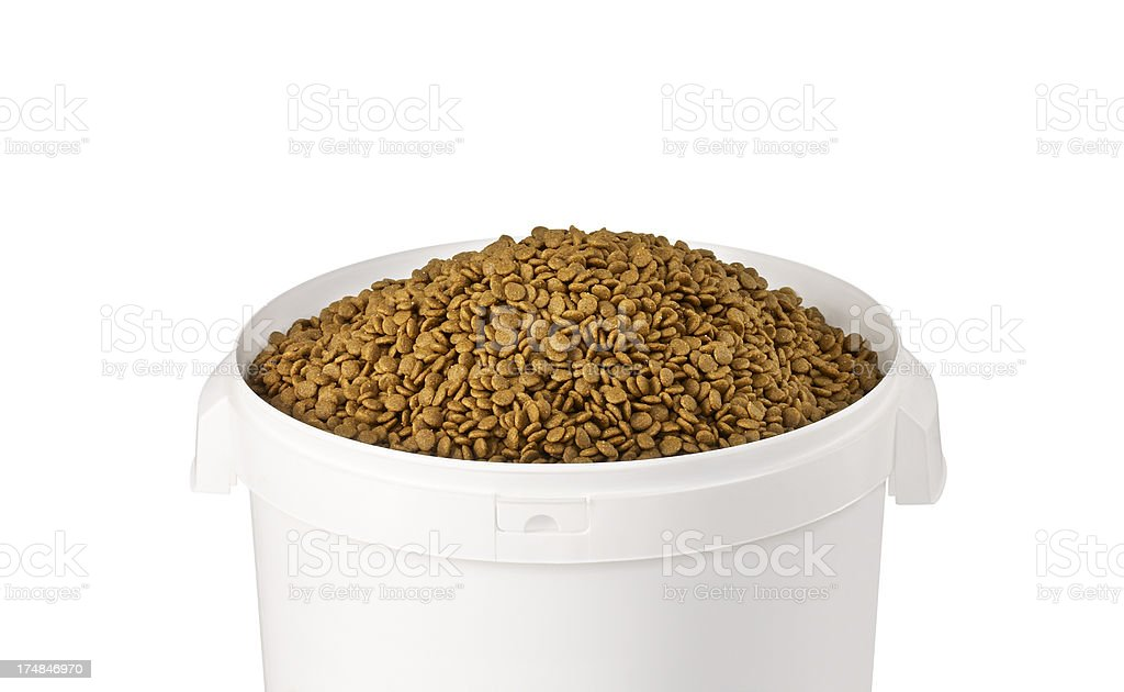 Pet Food+Clipping Path (Click for more) stock photo
