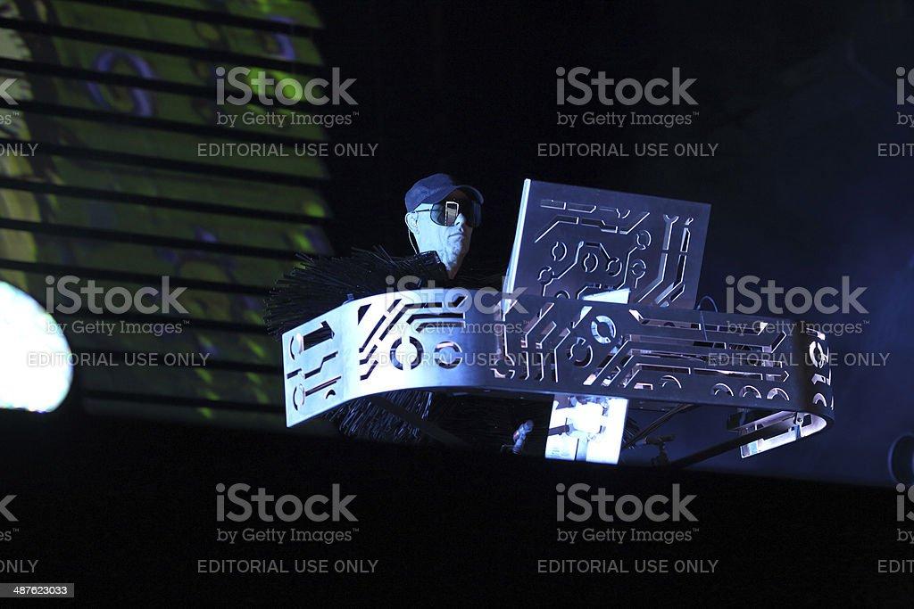 Pet Shop Boys - Chris Lowe stock photo