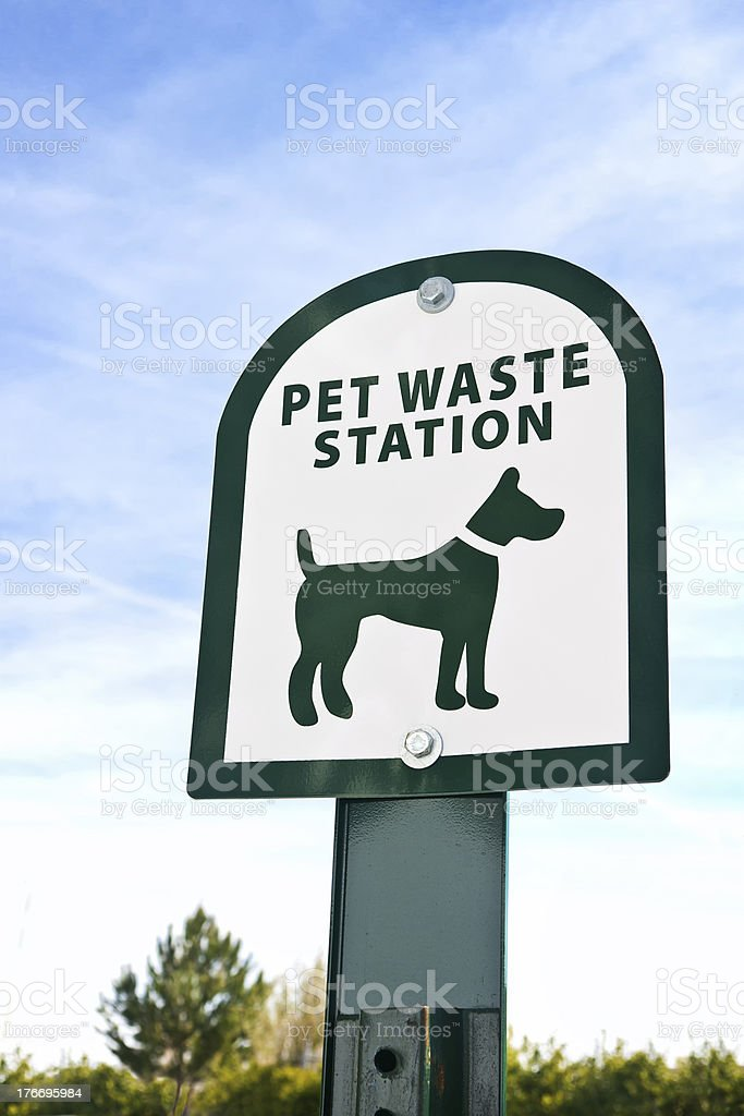Pet Waste royalty-free stock photo