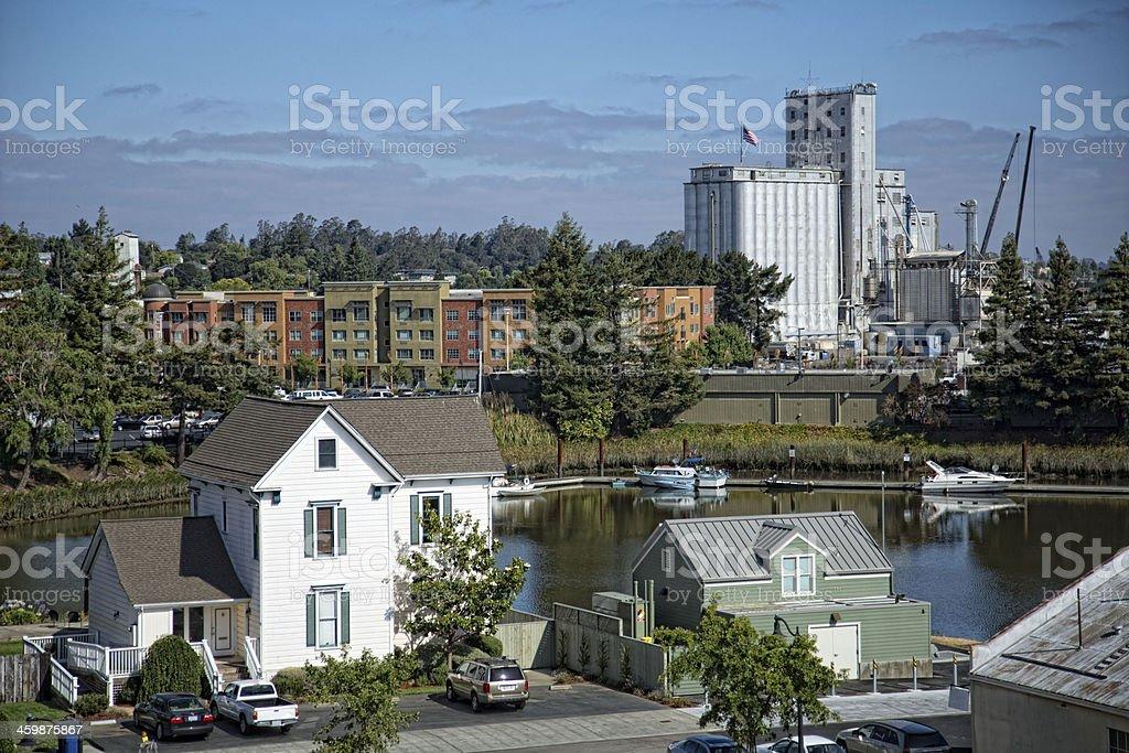 Petaluma Grain Mill stock photo