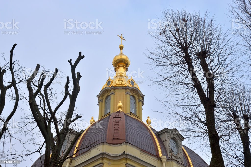 Peter and Paul Cathedral. stock photo
