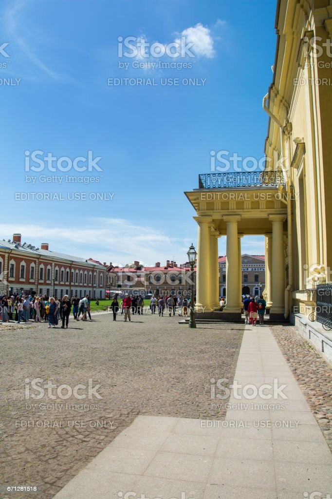 Peter and Paul Cathedral, St. Petersburg, Russia stock photo