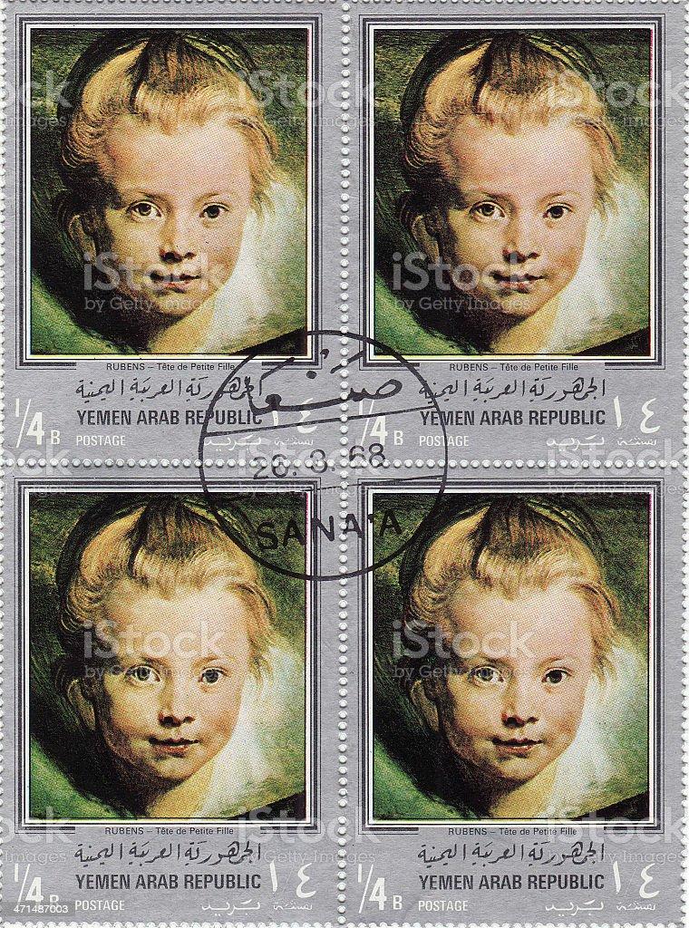 Peter Paul Rubens Painting stock photo