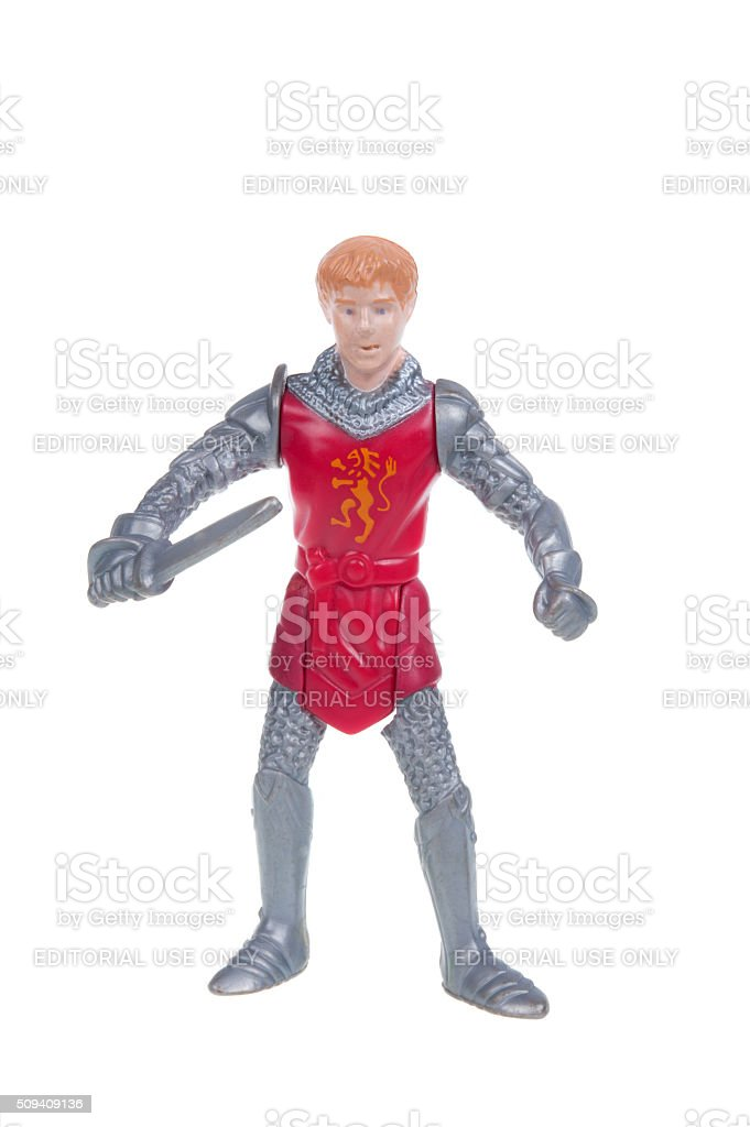 Peter Pevensie Happy Meal Toy stock photo