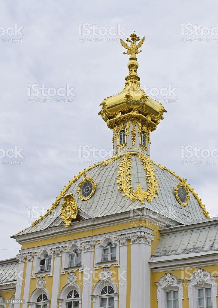 Peterhof palace royalty-free stock photo
