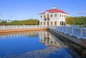Peterhof. Russia. Marly Palace