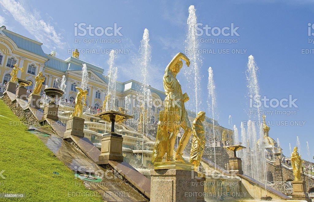 Peterhof, Russia royalty-free stock photo