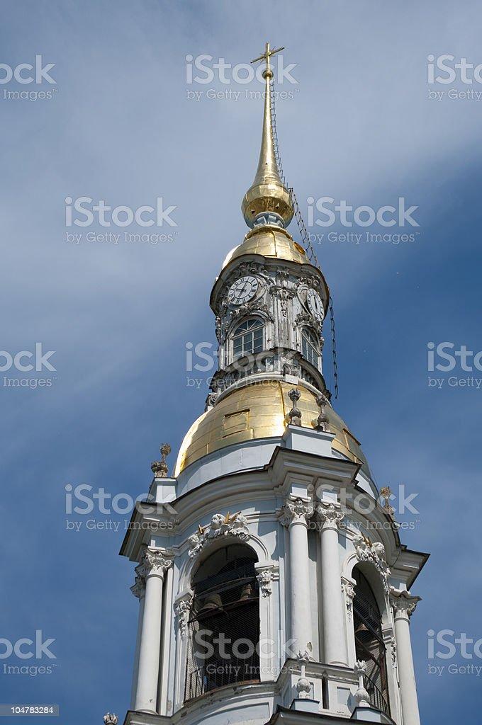 Petersburg's church royalty-free stock photo