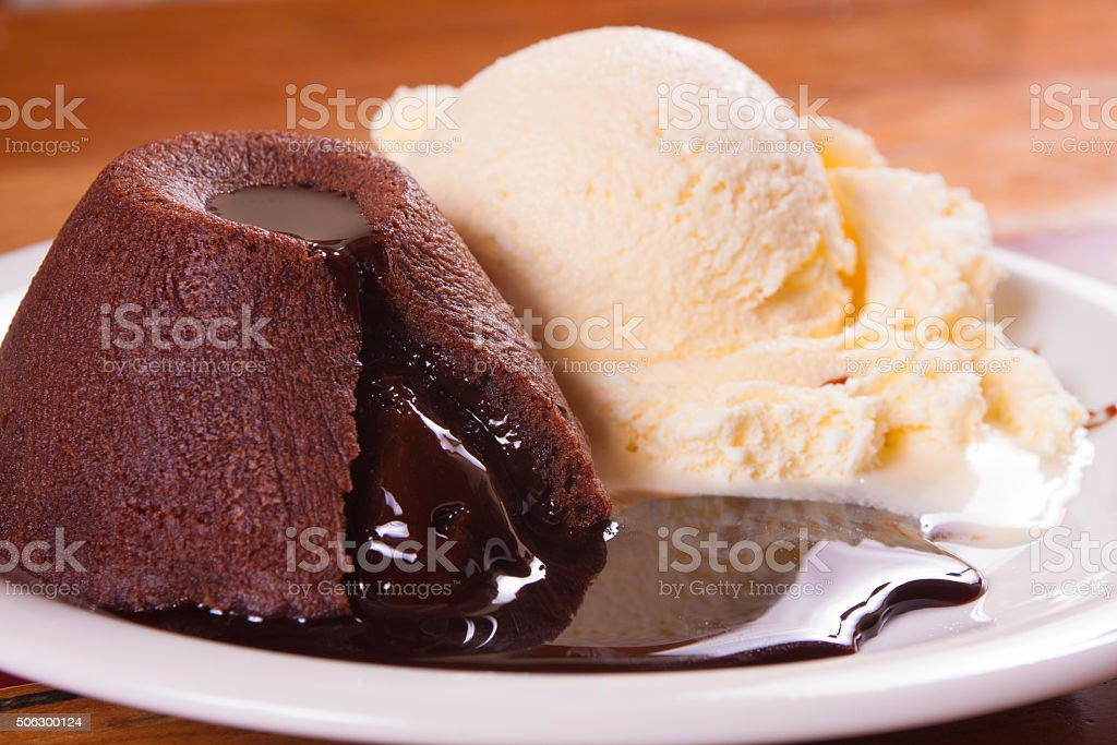 Petit Gateaux stock photo