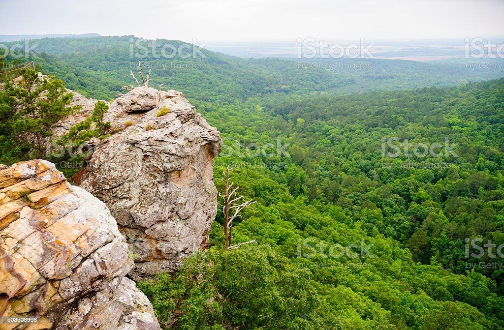 Petit Jean State Park stock photo