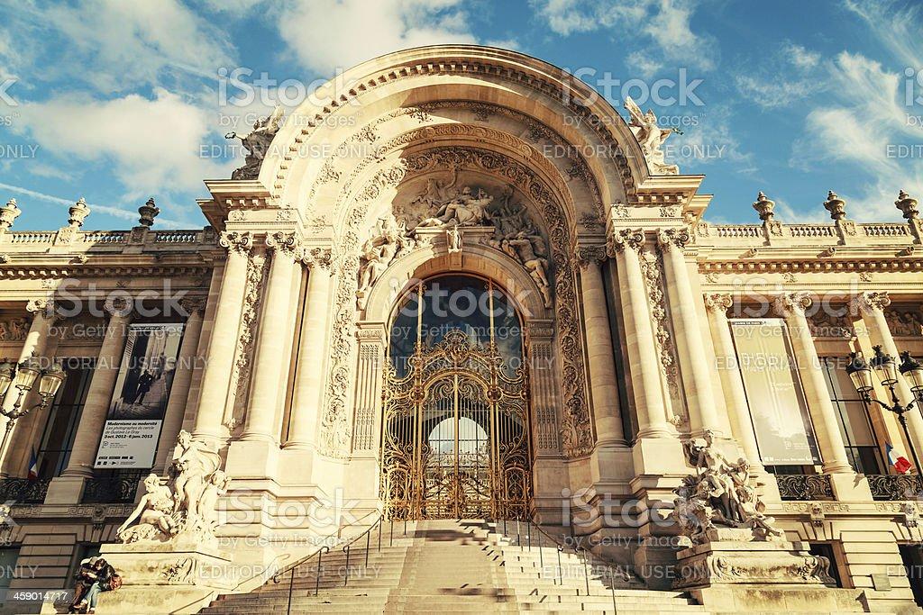 Petit Palais, Paris royalty-free stock photo