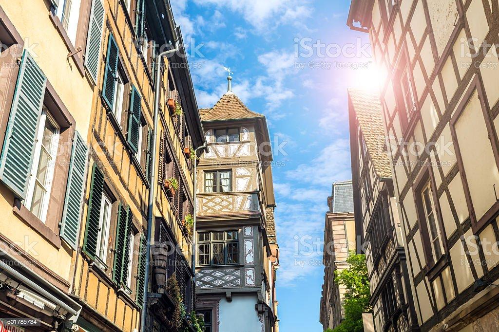 Petite France in Strasbourg, stock photo