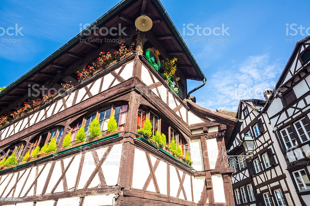 Petite France in Strasbourg stock photo