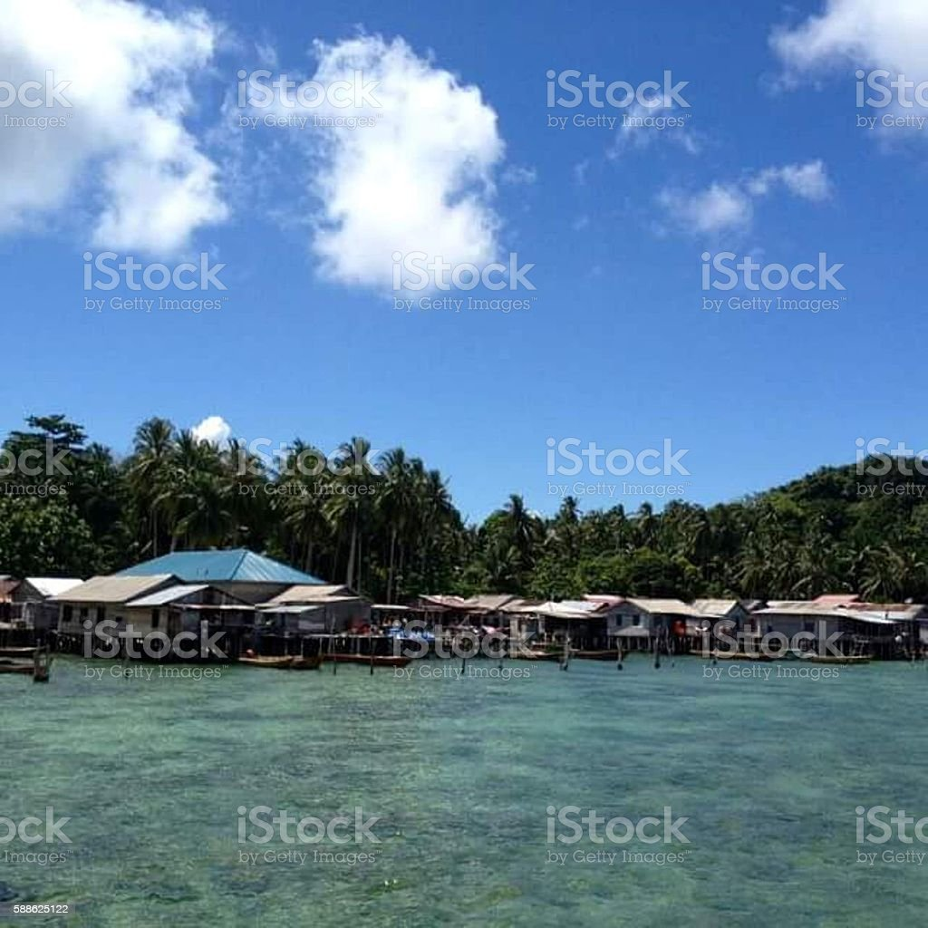 Petong island stock photo