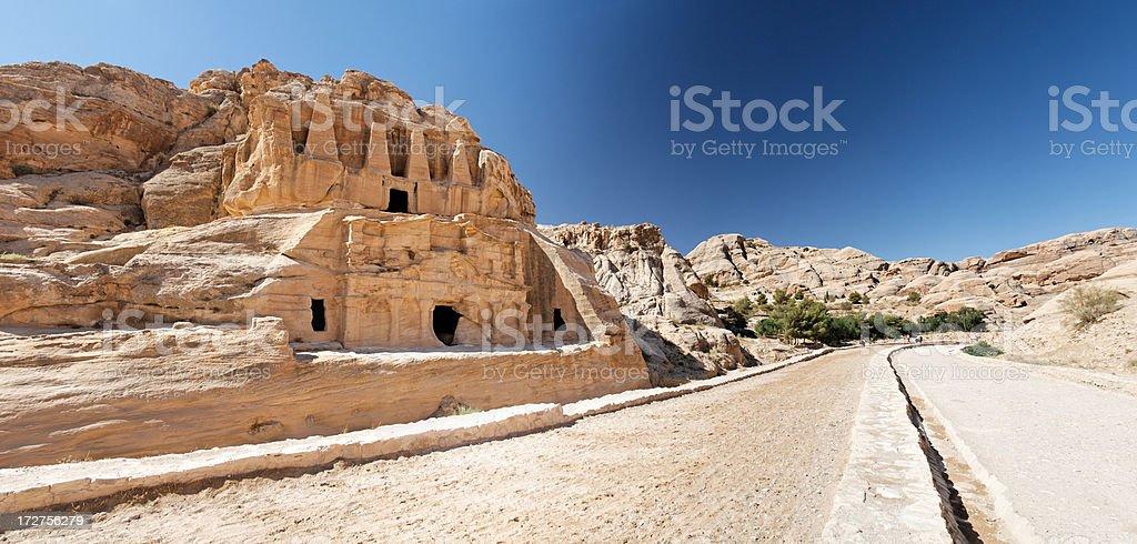Petra entrance royalty-free stock photo