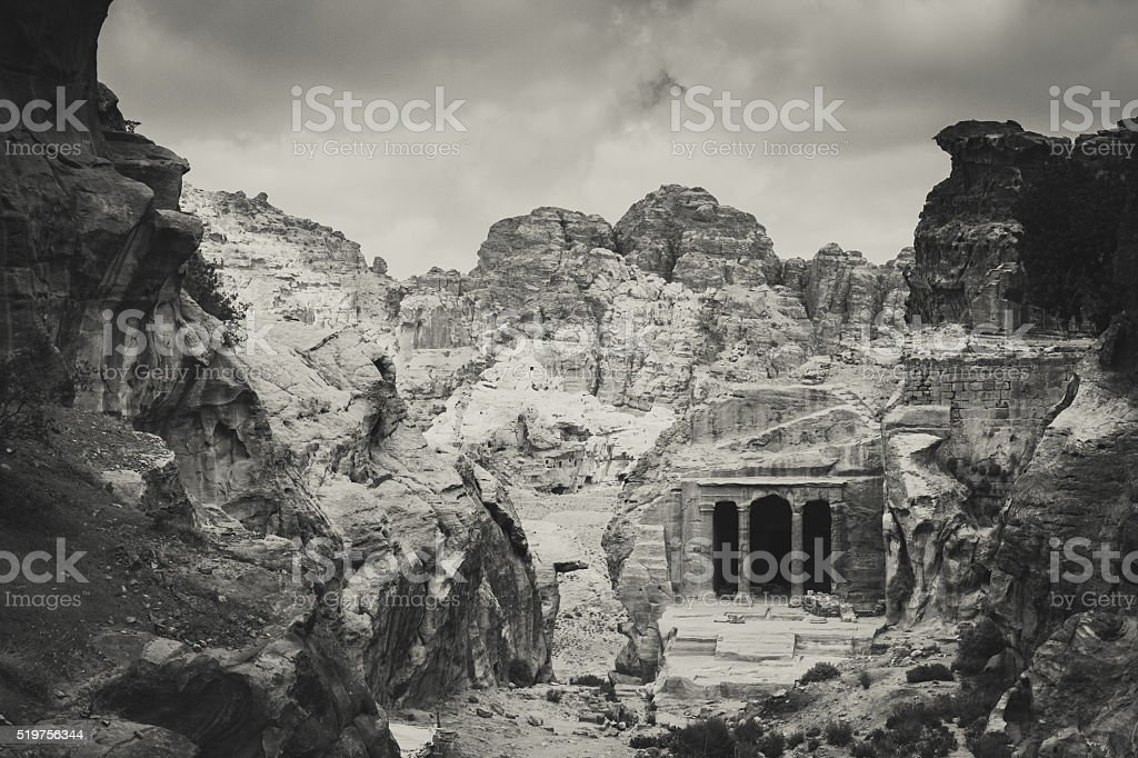 Petra - Garden Tomb stock photo