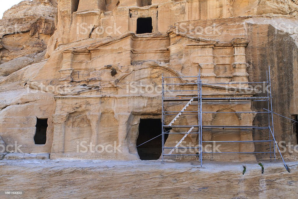 Petra, Jordan . royalty-free stock photo