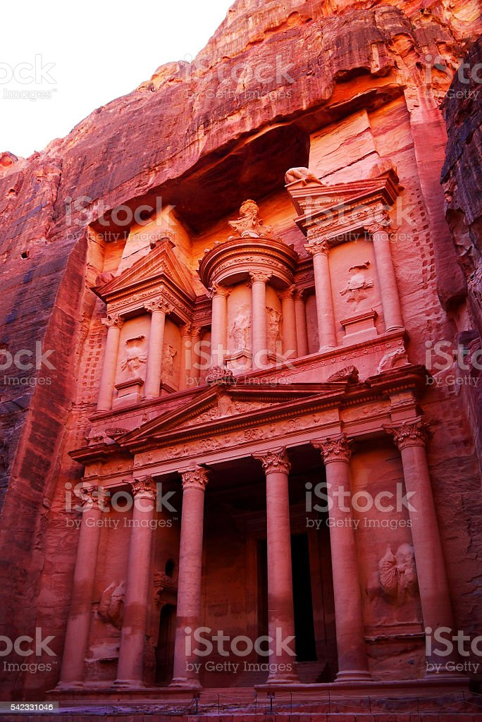 Petra, Jordan. stock photo