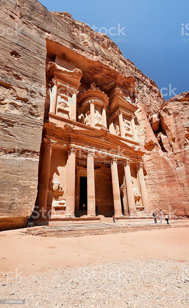 Petra - The Treasury stock photo