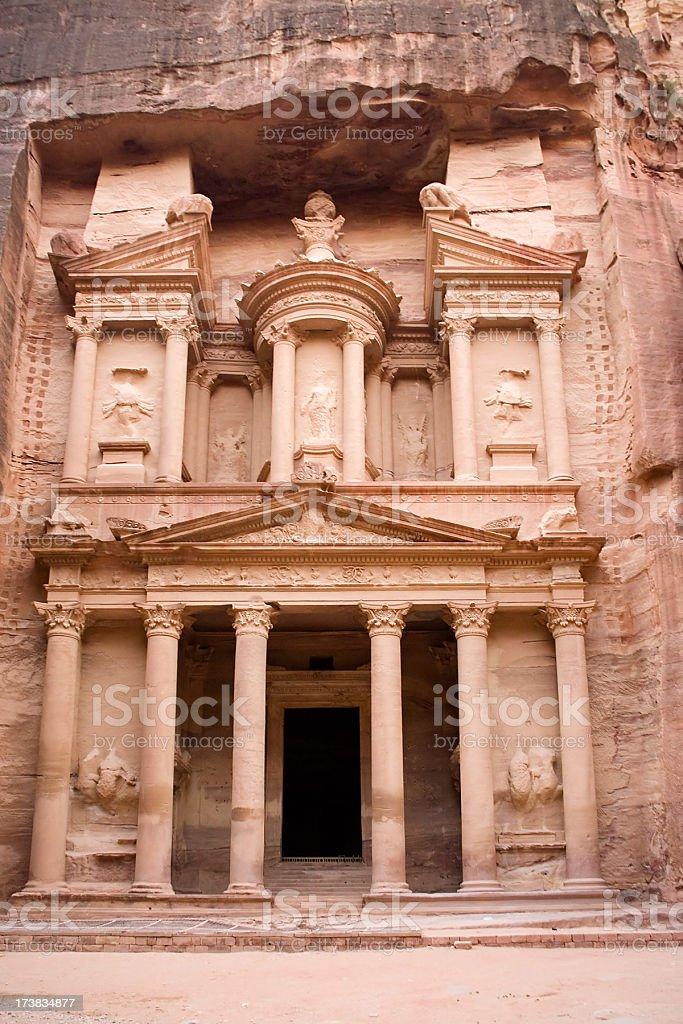 Petra - Treasury stock photo