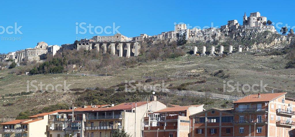 Petralia Soprana e Madonnuzza, Sicily stock photo