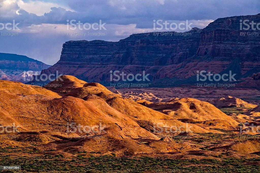Petrified Dunes Escalante Utah stock photo