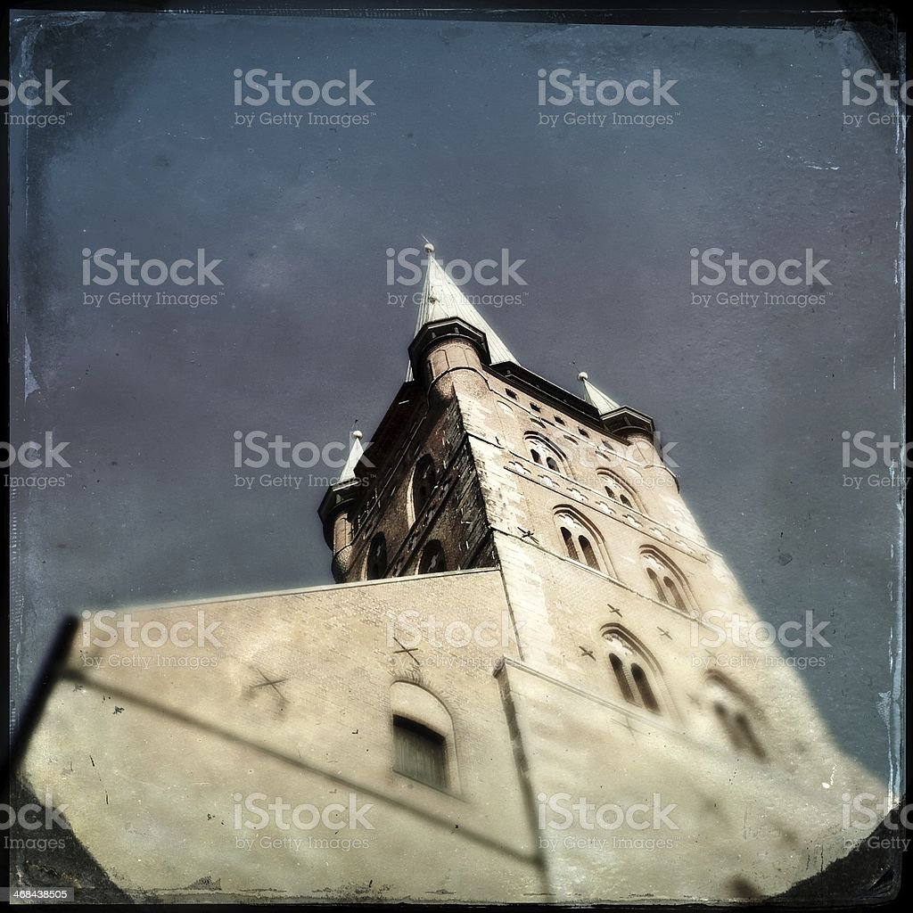 Petrikirche in Lubeck stock photo