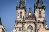 Petrin curch on Old Town Square in Prague interesting attraction