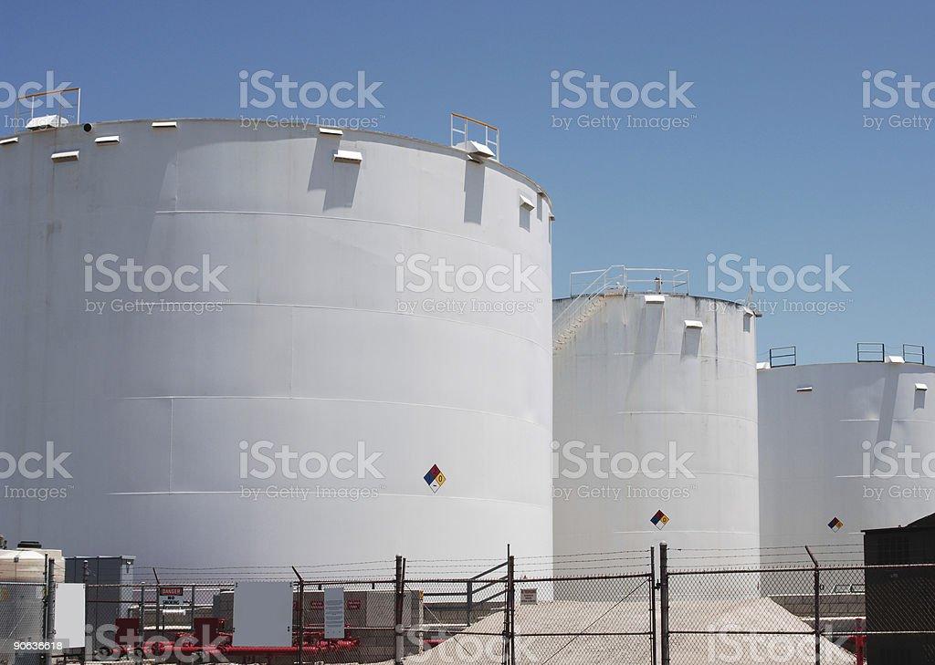 petro-chemical storage royalty-free stock photo